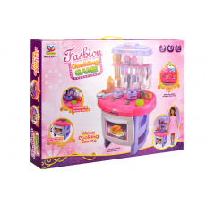 Dětská kuchyňka COOKING GAME (62cm) 25ks