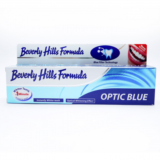 Beverly Hills Formula zubní pasta OPTIC BLUE 125ml