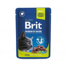 Brit Premium Cat Pouches Lamb for Sterilized 100 g