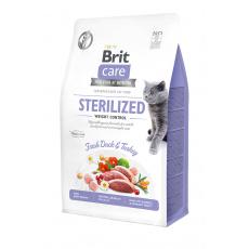 Brit Care Cat Grain-Free Sterilized Weight Control 400g