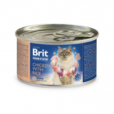 Brit Premium by Nature Chicken with Rice 200g