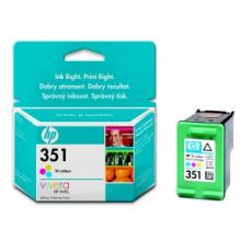 HP 351 - 3barevná inkoustová kazeta, CB337EE