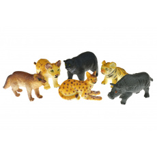 Zvířátka safari (7cm) - Set 6ks