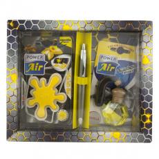 Power Air Tuning set, dárkové balení vůní do auta Yellow