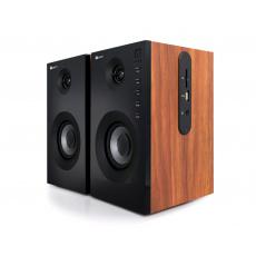 Repro C-TECH SPK-550BT, 2.0, Bluetooth, dálkové ovládání, dřevěné