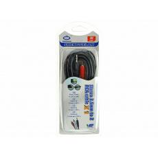 Audio propojovací kabel 3.5mm na 2xRCA - 3m