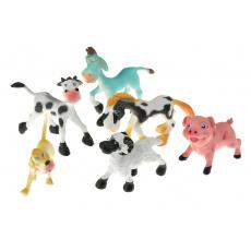 Zvířátka farma (7cm) - Set 6ks