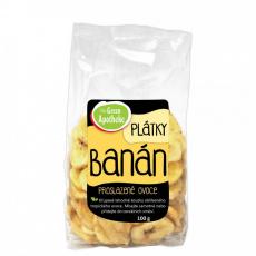Banán plátky nesířené 100g