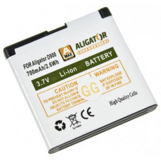 ALIGATOR D900 baterie 700mAh Li-Ion