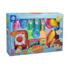 Dětský set do kuchyňky s mikrovlnkou GAZELO