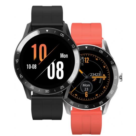 iGET BLACKVIEW GX1 Sport - chytré hodinky, 5 ATM, LCD 1.3'', 260mAh, 2x silikonový pásek v balení!