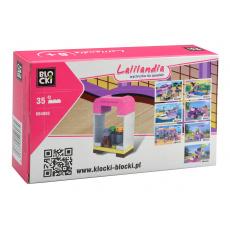 Stavebnice BLOCKI (KB4603) 35dílků - Kosmetický stoleček