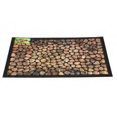 Bytová rohožka PERFECT HOME 40x60cm - Dřevěná mozaika