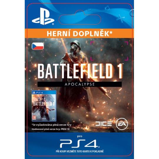 ESD CZ PS4 - Battlefield™ 1 Apocalypse 6.3.
