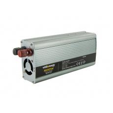WE Měnič napětí DC/AC 24V / 230V, 800W, USB