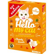 GG Hello my Cat Křupavé drůbeží menu 1000g