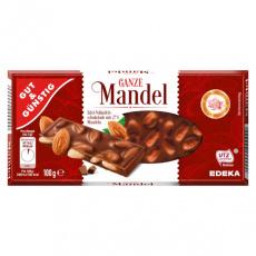 GG Mléčná čokoláda s celými mandlemi 100g