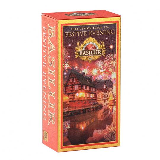 Basilur INFINITE Festive moments černý čaj 75g