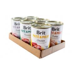 Brit Paté & Meat MIX PACK 6x400g