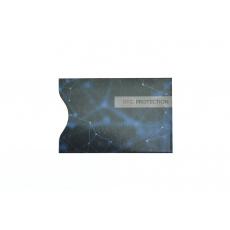 RFID ochranný obal na kartu - Modrý