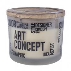 Svíčka vonná dekorativní vůně Art Concept, 250g