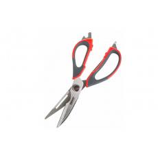 Nůžky kuchyňské univerzální rozložitelné CULINARIA 22,5cm, červené