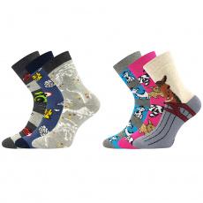ponožky Sibiř dětská 07