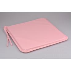 Podsedák na židli nebo lavičku (40x40x3cm) - Růžový