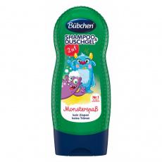 Bübchen dětský sprchový gel a šampon 2v1 Příšerky 230 ml