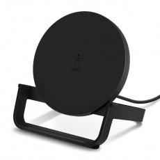 BELKIN 10W Qi nabíjecí stojan s microUSB kabelem a adaptérem, černý