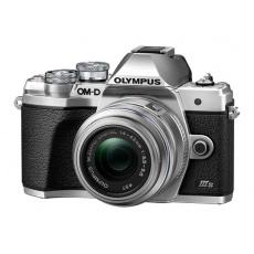 Olympus E-M10 III S 1442 EZ Pancake Kit slv/slv