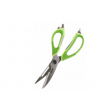 Nůžky kuchyňské univerzální rozložitelné CULINARIA 22,5cm, zelené