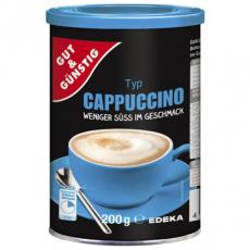 GG Cappuccino instatní nápoj 200g