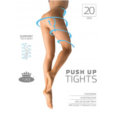 punčochové kalhoty PUSH UP tights 20 DEN