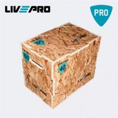 Livepro 58150 Plyometrická bedna dřevněn