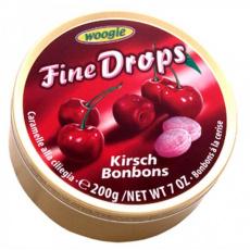 Fine Drops Třešeň Bonbony 200g