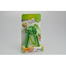 Plastový lis na česnek OKYANUS - Zelený (14,5cm)