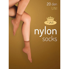 ponožky NYLON socks 20 DEN / 5 párů