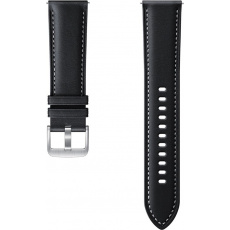 Samsung Stitch Leather Band (22mm, M/L) Black