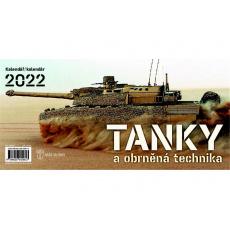 Kalendář 2022 stolní - Tanky a obrněná technika