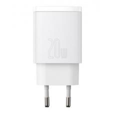 Baseus CCXJ-B02 Compact Quick Nabíječka USB/USB-C 20W White