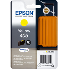 Epson Singlepack Yellow 405 DURABrite Ultra Ink