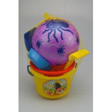 Dětská sada na písek MARIOINEX - Se sítkem a balónem (6ks)