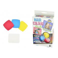 Křídy na vlasy - Hair colour