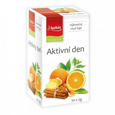Apotheke PREMIER Aktivní den čaj 20x2g