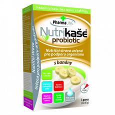 Nutrikaše Probiotik banán 3x60g