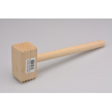Dřevěná palička na maso - Kostka (27,5cm)