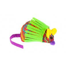 Myš barevná 12cm