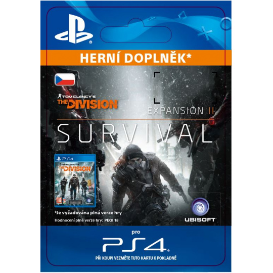 ESD CZ PS4 - TOM CLANCY'S THE DIVISION Survival