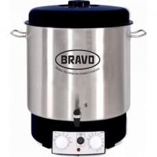 Bravo B-4515 s ventilem nerez bílý